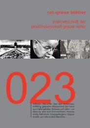 rgb 023 - Die Schriftleitung