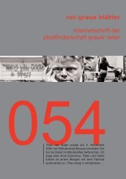 rgb 054 - Die Schriftleitung