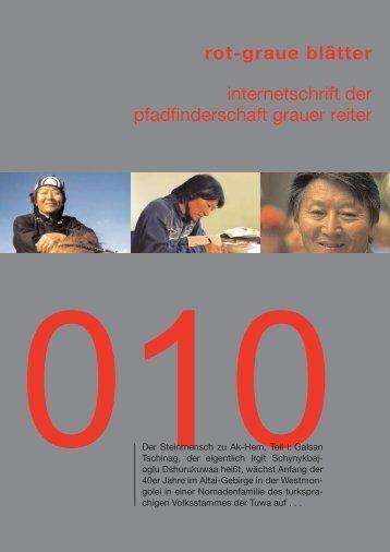rgb 010 - Die Schriftleitung