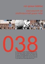 rgb 038 - Die Schriftleitung