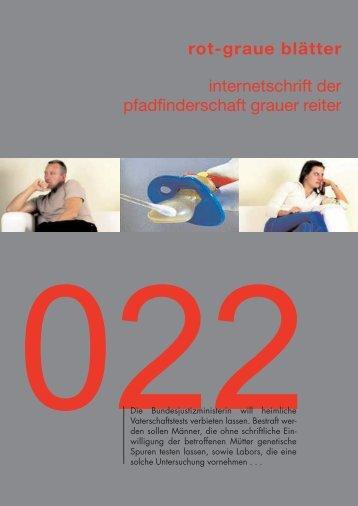 rgb 022 - Die Schriftleitung