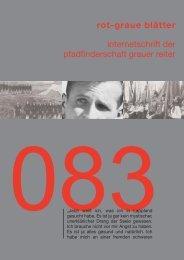 rgb 083 - Die Schriftleitung