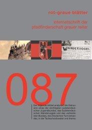 rgb 087 - Die Schriftleitung