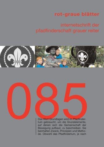 rgb 085 - Die Schriftleitung