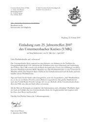 UMK - Die Schriftleitung