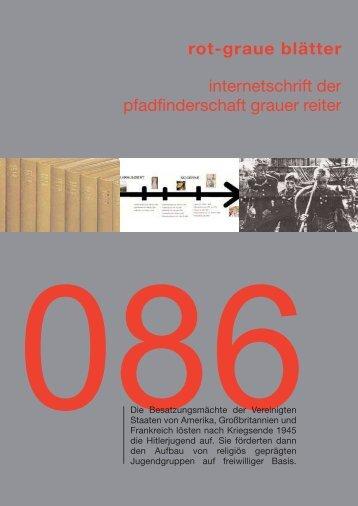 rgb 086 - Die Schriftleitung