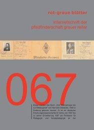 rgb 067 - Die Schriftleitung