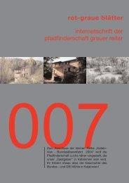 rgb 007 - Die Schriftleitung