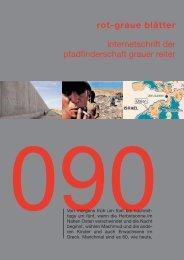 rgb 090 - Die Schriftleitung