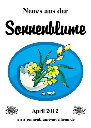 Liebe Kundinnen und Kunden - Sonnenblume Muelheim