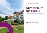 Klimaschutz für Hotels - ClimatePartner