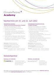 Academy - ClimatePartner