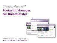 Info zum Footprint Manager Dienstleistungssektor.pdf - ClimatePartner