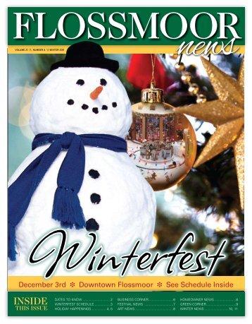 Winter 2011 - Village of Flossmoor, Illinois