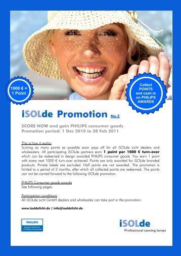 Download Promo-Flyer - Isoldelicht.de