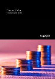 Finance Update September 2011 - Olswang