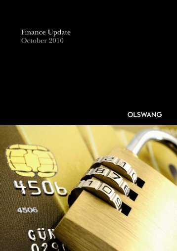 Finance Update October 2010 - Olswang