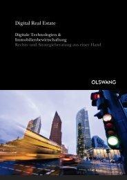 Digital Real Estate deutsch (700 KB) - Olswang