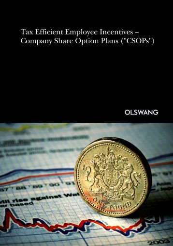 Company Share Option Plans - Olswang
