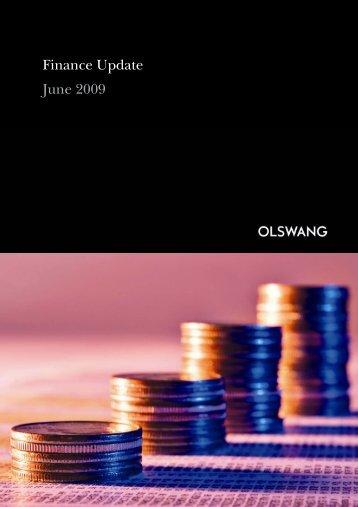 Finance Update June 2009 - Olswang