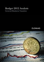 General Business Taxation - Olswang