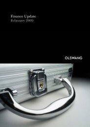 Finance Update February 2009 - Olswang