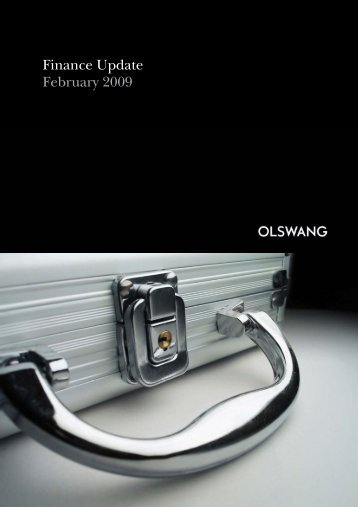 Finance Update February 2009 - Olswang