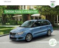 Škoda Fabia Cool Edition - Radio-MK
