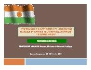 (Microsoft PowerPoint - SITUATION DE LA PLANIFICATION ...