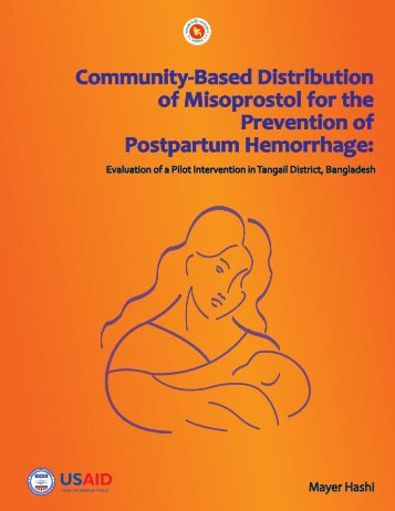 Community-Based Distribution of Misoprostol for the Prevention of ...