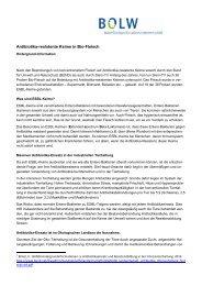 Stellungnahme des BÖLW - Schrot & Korn