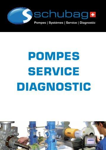 POMPES SERVICE DIAGNOSTIC - schubag AG