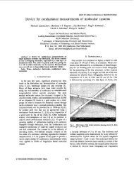 Device for conductance measurements of molecular ... - IEEE Xplore