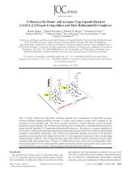 N-Heterocyclic Donor- and Acceptor-Type Ligands Based on 2-(1H ...