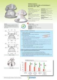 Reflektorleuchten mit hoher Schutzart IP65 und ... - Schuch