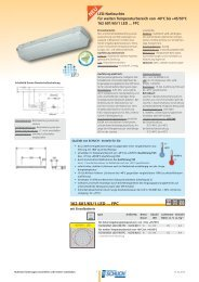 162 601/65/1 LED ... FPC - Schuch