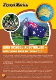 HIGH SCHOOL AUSTRALIEN - - Schüleraustausch & High School