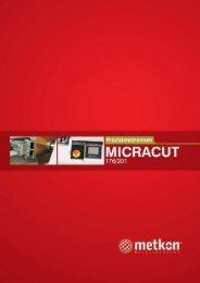 Micracut Prospekt öffnen - Schütz + Licht Prüftechnik GmbH
