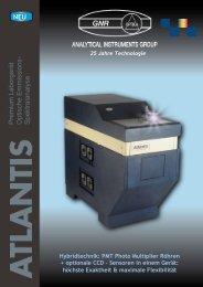 ATLANTIS als PDF öffnen - Schütz + Licht Prüftechnik GmbH