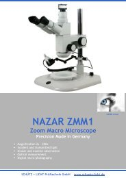 NAZAR ZMM1 Zoom Makro Microscope open as PDF