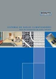 sistemas de suelos climatizadores - Schutz GmbH & Co. KGaA
