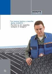 La nuova lastra a nocche della SCHÃœTZ - Schutz GmbH & Co. KGaA