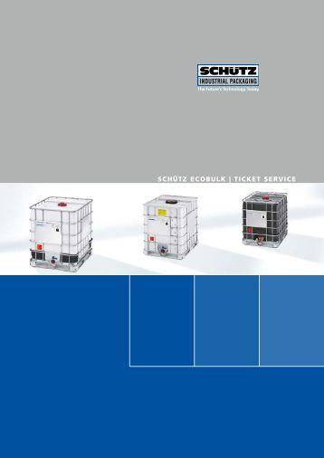 SCHÃœTZ eCobulk | TiCkeT ServiCe - Schutz GmbH & Co. KGaA