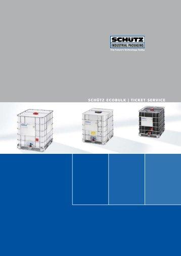 SCHÃœTZ eCobulk   TiCkeT ServiCe - Schutz GmbH & Co. KGaA