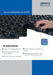 Die neue Nockenfolie von SCHÃœTZ - Schutz GmbH & Co. KGaA