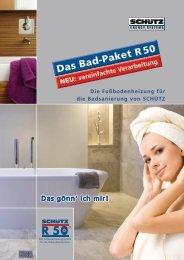 Das Bad-Paket R50 - Schutz GmbH & Co. KGaA
