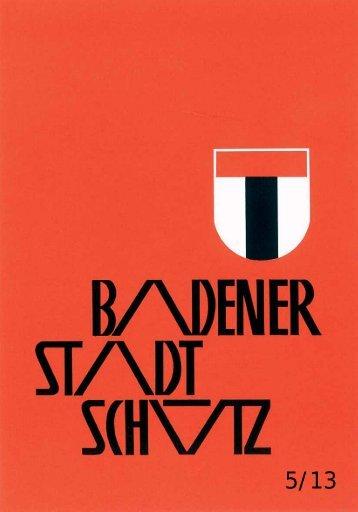 Schützengesellschaft der Stadt Baden - Impressionen aus unserer ...