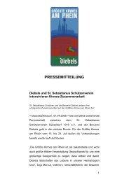pressemitteilung - St. Sebastianus Schützenverein Düsseldorf 1316 ...