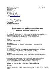 Bezirksliga_Allgemein Ausschreibung