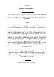 SATZUNG des Schützenvereins Bondorf e.V. § 1 Name und Sitz des ...